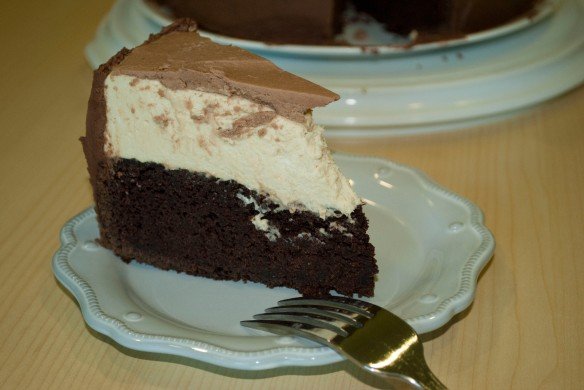 double chocolate stout cake